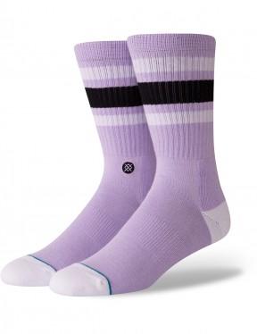 Stance Boyd 4 Crew Socks in Violet