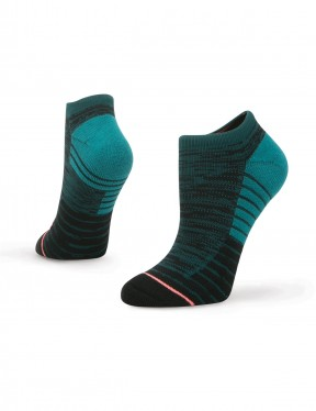 Stance Circuit Low No Show Socks in Blue