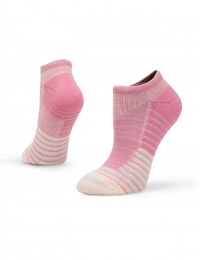 Stance Circuit Low No Show Socks in Pink