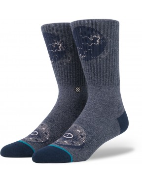 Stance Deception Socks in Navy