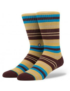 Stance Hyena Socks in Burgundy