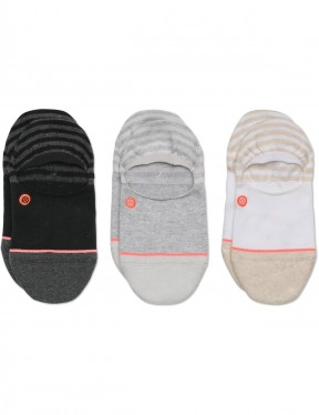 Stance Invisible 3 Pack No Show Socks in Multi