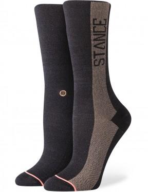 Stance Judge Me Crew Socks in Black