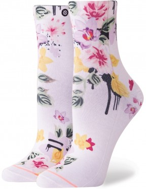Stance Just Dandy Lowrider Ankle Socks in White