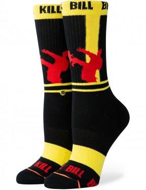 Stance Women/'s Classic Uncommon Crew Crew Socks in Yellow