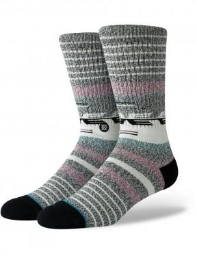 Stance Nambung Crew Socks in Black