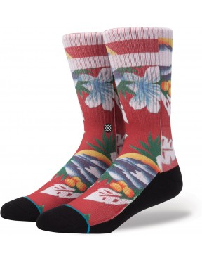 Stance Newport Socks in Red