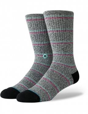 Stance Saguaro Crew Socks in Black