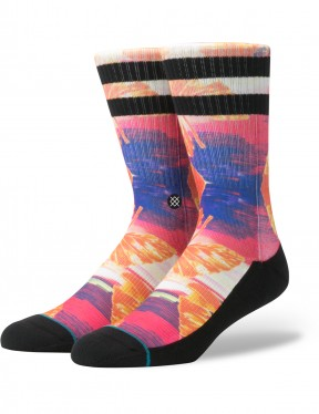 Stance Stranded Crew Socks in Multi