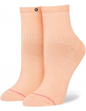 Stance Uncommon Classic Lowrider Ankle Socks in Mango
