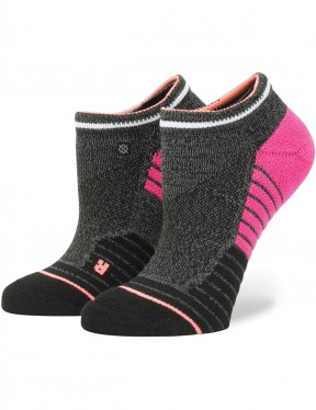 Stance Villainess Low Crew Socks in Grey
