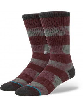 Stance Wells Socks in Burgundy