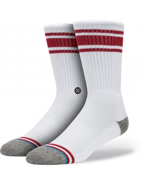 Red Stance White Out Socks