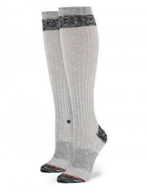 Stance Wolfie Tall Boot Socks in Grey