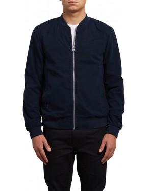 Volcom Burnward Jacket in Navy