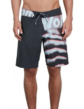 Volcom Liberate Mod 19 Mid Length Boardshorts in Black