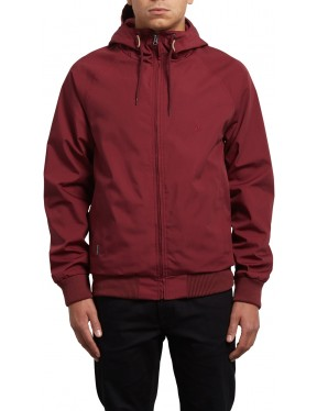 Volcom Raynan Jacket in Crimson