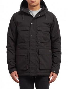 Volcom Renton Winter Jacket in Black