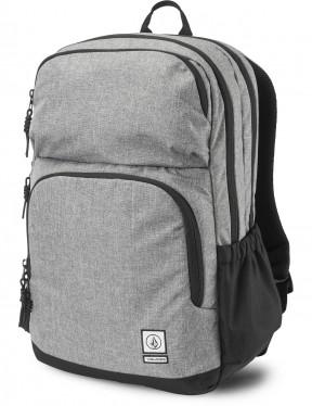 Volcom Roamer Backpack in Black Grey