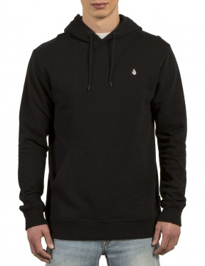 Volcom Single Stone Pullover Hoody in Black