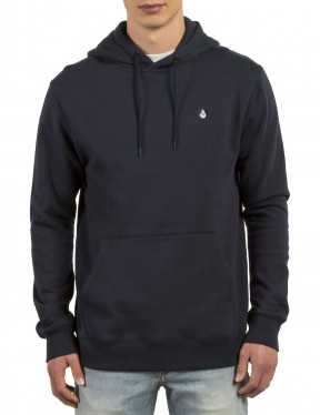 Volcom Single Stone Pullover Hoody in Navy