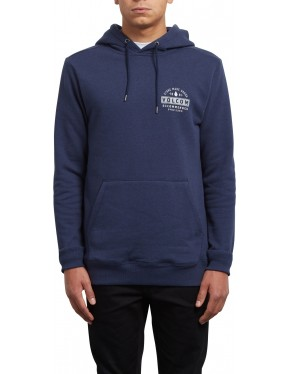 Volcom Supply Stone Pullover Hoody in Deep Blue