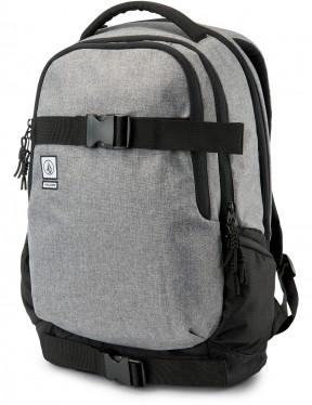 Volcom Vagabond Stone Backpack in Black Grey