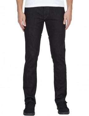 b3eeeb5d Volcom Solver Denim Straight Fit Jeans in Vintage Blue | hardcloud.com