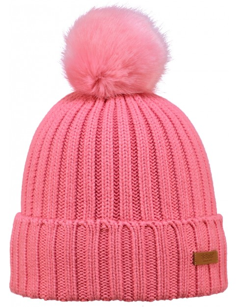 Barts Linda Bobble Hat in Pink