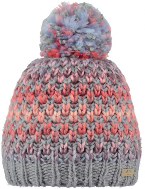 Barts Nicole Bobble Hat in Coral