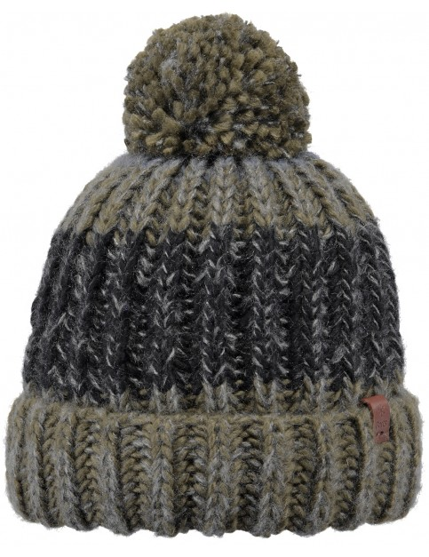Barts Cole Bobble Hat in Army