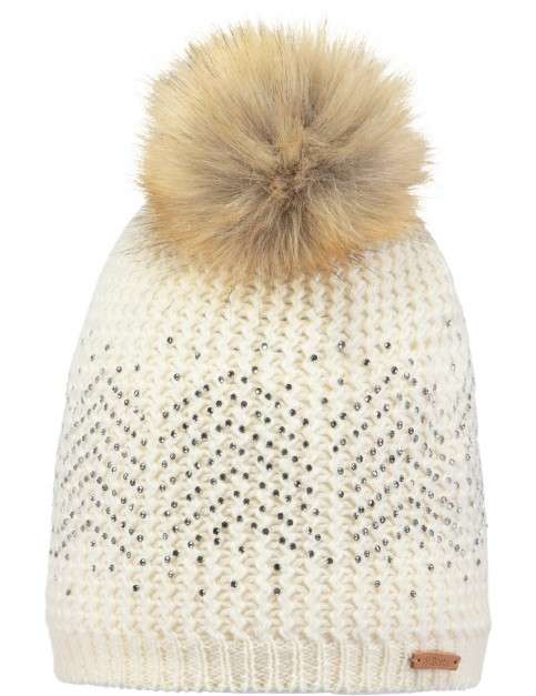 Barts Marceline Bobble Hat in Marscarpone