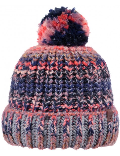 Barts Jevon Bobble Hat in Navy