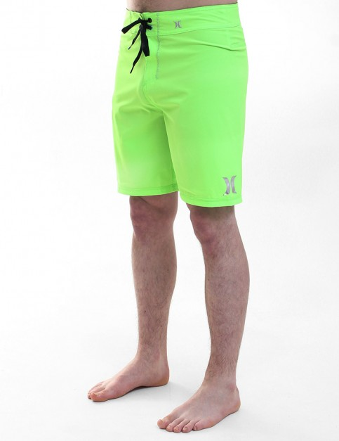 Hurley Phantom One and Only Boardies - Flash Lime