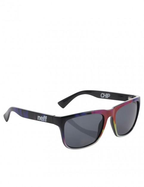 Neff Chip Sunglasses - Tie Dye