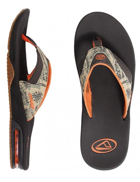 Reef Fanning Prints Sandal - Palm Camo Brown