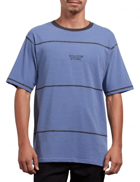 Volcom Noa Noise Short Sleeve T-Shirt in Stone Blue