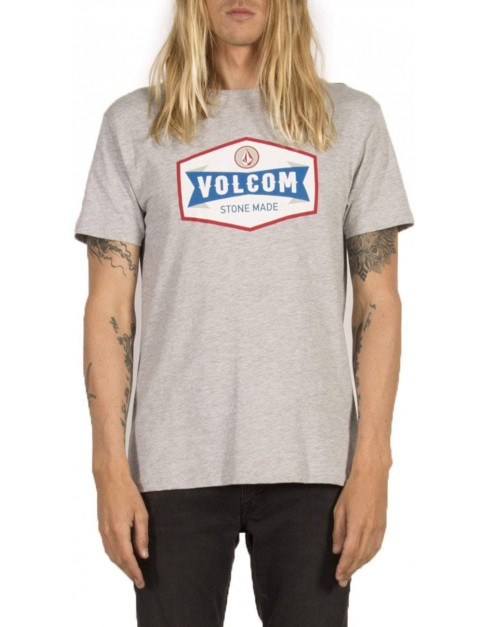 Volcom Budy Short Sleeve T-Shirt in Heather Grey