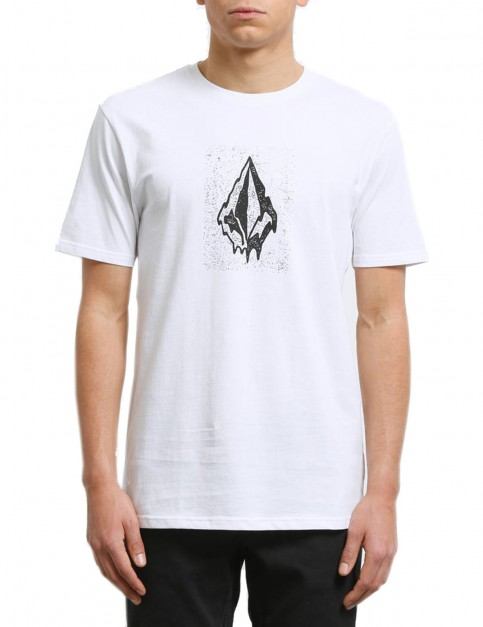 Volcom Drippin Out Short Sleeve T-Shirt in White