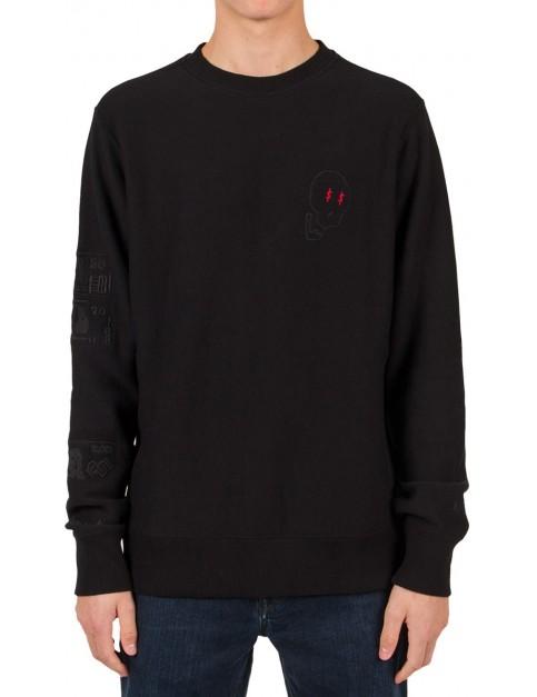 Volcom Volcom X Lister Crew Sweatshirt in Black