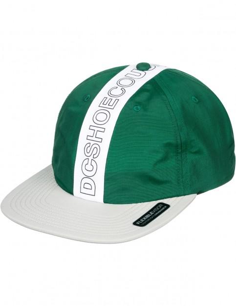 DC Baffles Cap in Hunter Green