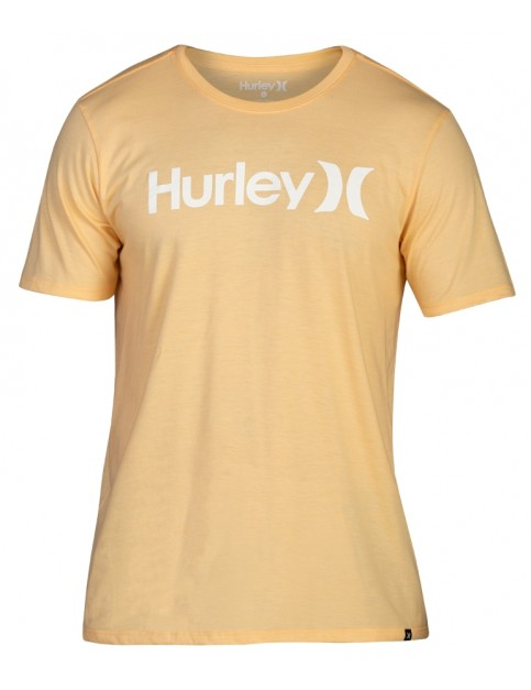 Hurley One & Only Solid Short Sleeve T-Shirt in Melon Tint Htr
