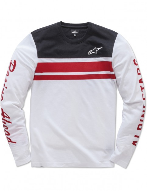 Alpinestars 2 Stroke Knit Long Sleeve Shirt in White