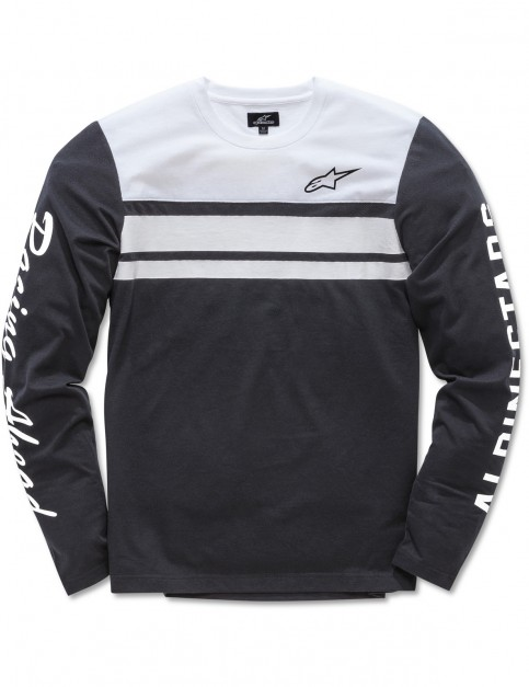 Alpinestars 2 Stroke Knit Long Sleeve T-Shirt in Black