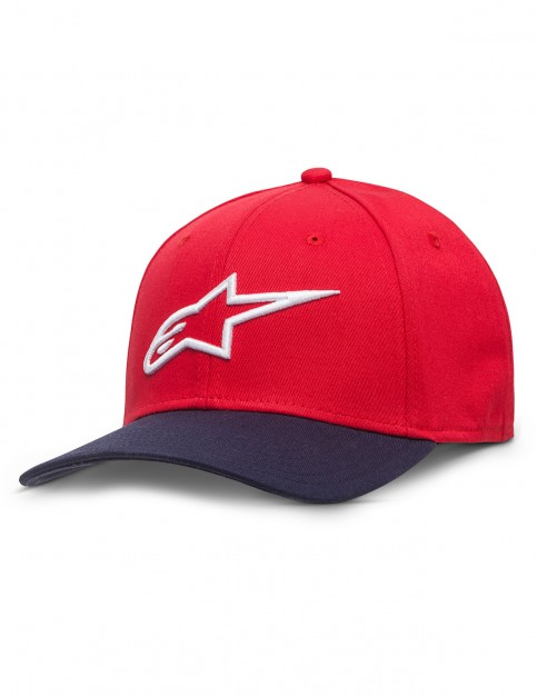 Alpinestars Ageless Cap in Red/Navy