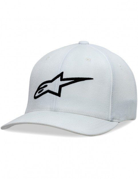 Alpinestars Ageless Curve Cap in White/Black