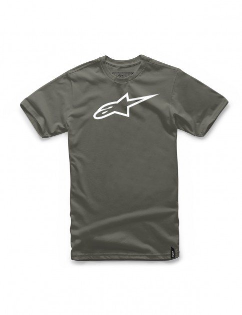 Alpinestars Ageless Short Sleeve T-Shirt in Military/White