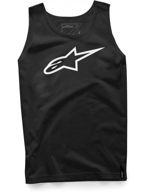 Alpinestars Ageless Sleeveless T-Shirt in Black/White