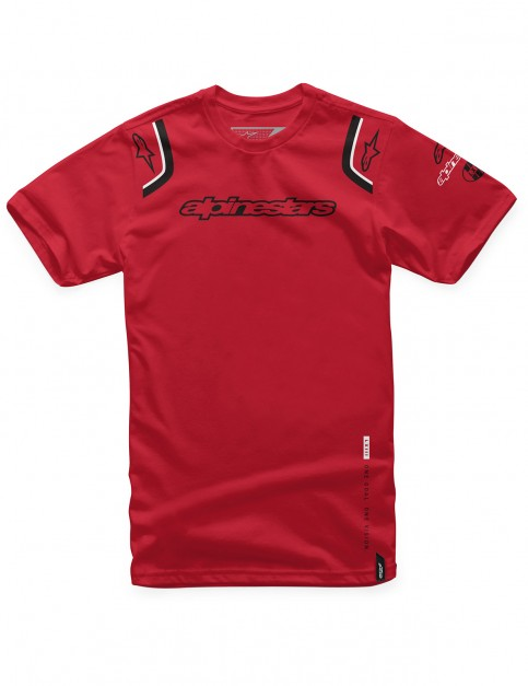 Alpinestars Ally Short Sleeve T-Shirt in Red