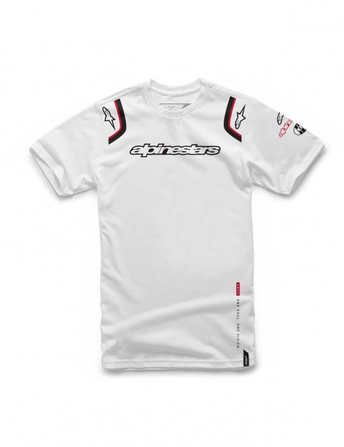 Alpinestars Ally Short Sleeve T-Shirt in White